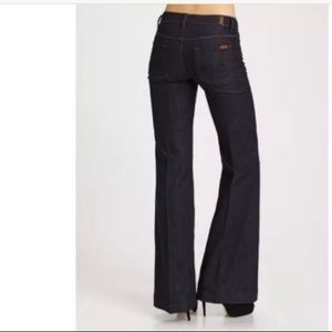 7 FOR ALL MANKIND GINGER Womens size 27 Dark Wash